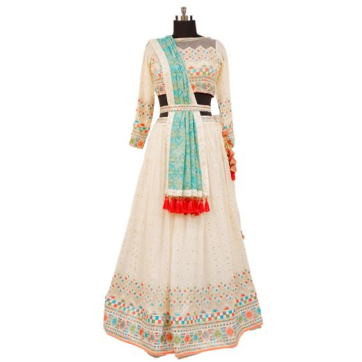 Traditional Lehenga With Designer Touch